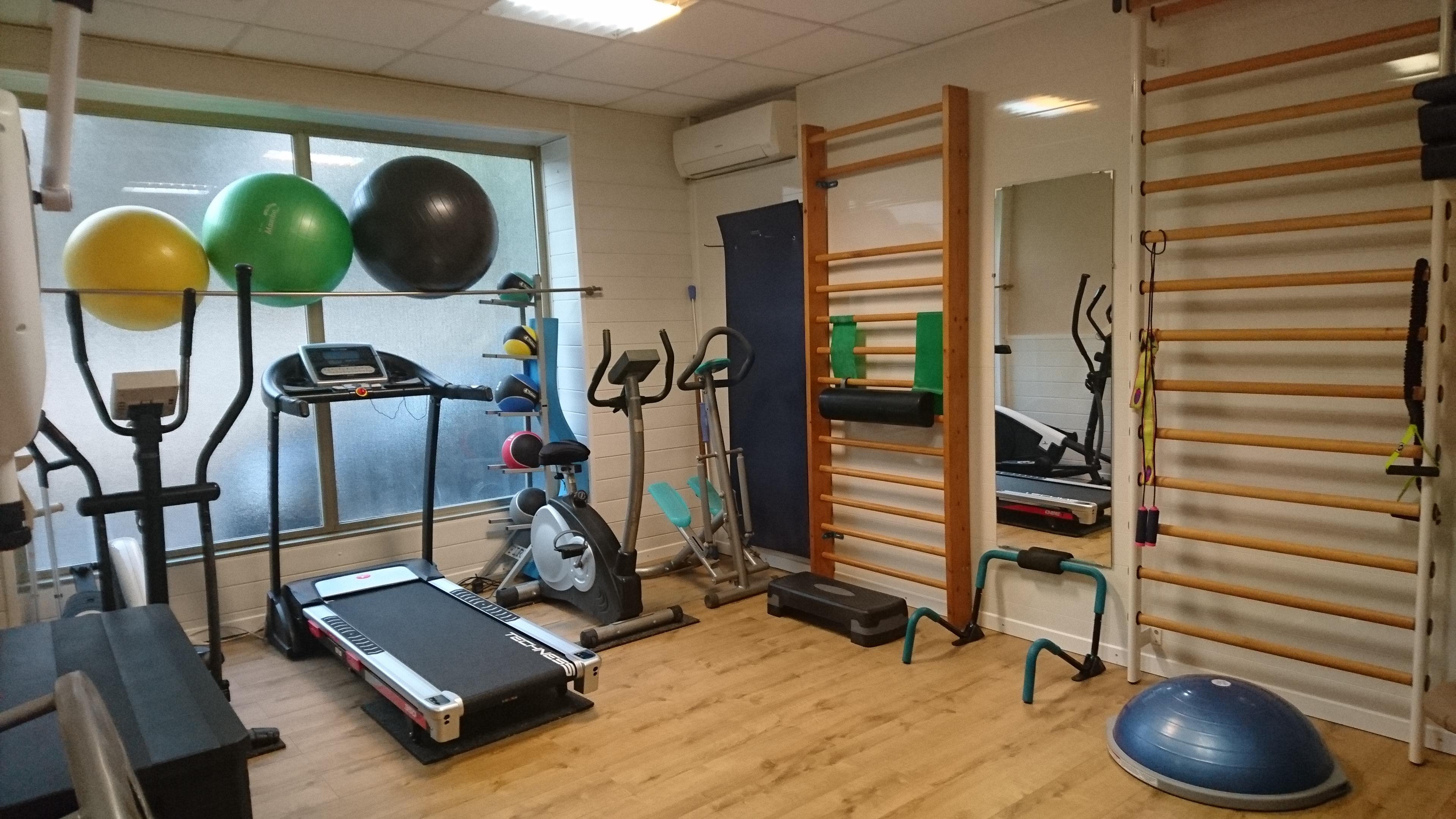 La salle de sport du cabinet de kinésithérapie